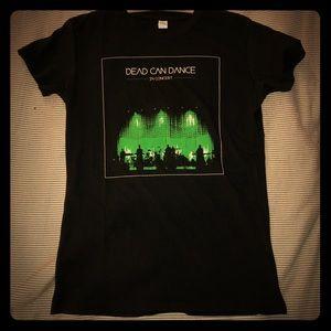 RARE Dead Can Dance in concert women t shirt L